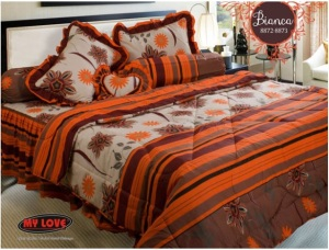 My Love Bedcover Bianca