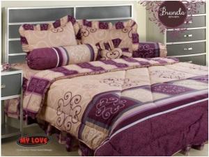 My Love Bedcover Brunela