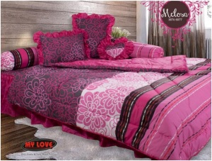 My Love Bedcover Melosa